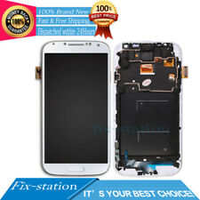 for Samsung Galaxy S4 I9505 White LCD Display Digitizer Touch Screen Replacement