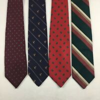 Lot of 4 Robert Talbott Hand sewn 100% Silk Luxury Designer Paisley Neck Tie