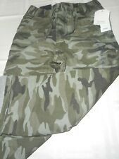 BABY GAP NWT Boy 4 yr green camo pull-on lined long pants front and back pockets