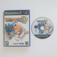 Worms 3D Sony Playstation 2 PS2 PAL free uk postage
