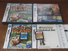 Lot 2 Nintendo DS Games - Professor Layton and the Diabolical Box & Pogo Island