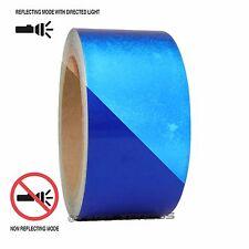"1 Roll Blue 2"" x 30 feet Reflective Engineering Grade Tape Pinstripe"