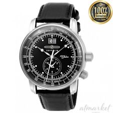 ZEPPELIN 7640-2 Watch 100 Year Anniversary Model Black Dial Men's from JAPAN NEW
