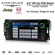 AUTORADIO Jeep Chrysler Dodge NAVIGATORE GPS Dvd Usb Bluetooth RetroCam XTRONS