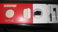 Shure M111HE audiophile cartridge -New Old Stock - USA MFG!!!!