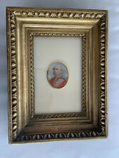 Superb Miniature Painting J C Valois School ? English French Aristocracy