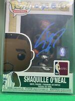 Shaquille O'Neal Signed Orlando Magic NBA Funko POP (JSA) SHAQ DIESEL