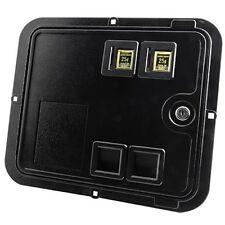2 SLOT COIN DOOR ACCEPTS BILL VALIDATOR
