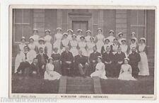 Worcester, General Infirmary, Nurses & Staff Postcard, B472