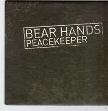(FG775) Bear Hands, Peacekeeper - 2014 DJ CD