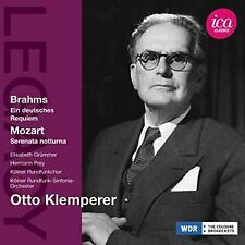 SOLOISTS:KOLNER RC:O:KLEMPERER - BRAHMS/MOZART:KLEMPERER [CD]