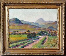 Louis Antoine Retru (1865-1951) TABLEAU POST IMPRESSIONNISME HUILE TOILE CADRE