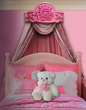 "Beautiful Girl's ""Princess"" Handcrafted Bed Crown - Real Wood - Canopy - Teester"