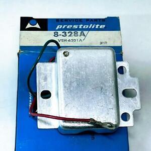 Prestolite 8-328A VSH6201A 12V Alternator Voltage Regulator 69-82 Case -87 Eaton