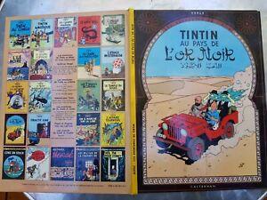 Tintin au pays de l'or noir Bon état Année 1971 ISBN 2 203 00114 3