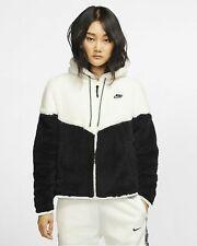 Nike Sportswear Windrunner Women's Sherpa Jacket S Teal Green Full Zip