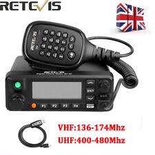 Retevis RT90 DMR Dual Band Mobile Car Ham Radio Digital/Analog TDMA 3000CH