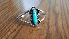 Bella Swan Twilight Sterling Silver Turquoise Cuff Bracelet