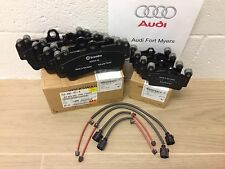 AUDI Q7 FRONT & REAR BRAKE PADS AND WEAR SENSORS - OEM Brand New 7L0698151R