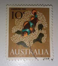 1966 10c Anemone Fish Definitive Australia -  Used Stamp