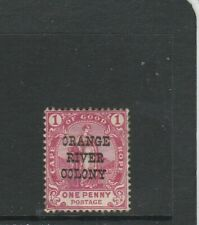 Orange River Colony, 1900 Opts on Cape Good Hope, 1d NO STOP AFTER PENNY, MM SG