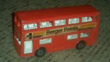 Vintage Matchbox Superfast 17 Londoner Bus Berger Paints Lesney 1972 England