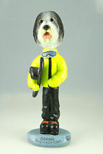 SNOWBOARDER BEARDED COLLIE-SEE INTERCHANGEABLE BREEDS & BODIES @ EBAY STORE