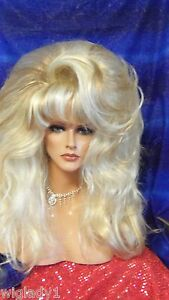 WIGS DRAG QUEEN BIG SMOOTH FROSTED SHOWN frosted special