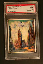 1951 Bowman Red Menace #23 Ghost City - PSA 7.5 - NM+