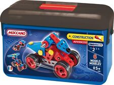 Meccano Children Building Kit Construction Tool Car Screwdrivers Bastelkoffer