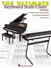 The Ultimate Keyboard Scale Chart Learn to Play Piano Organ Music Guide Book