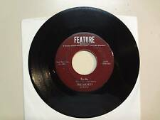 """SOCIETY:For Me 2:37-One Way Ride  2:17-U.S. 7""""1966 Feature Records 817R-112,Wis."""