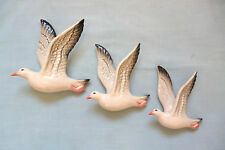 CERAMIC WALL HANGING DUCKS , SEAGULLS ,  AUSTRALIANA