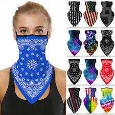 Summer Breathable Balaclava Neck Gaiter Tube Bandana Face Mask Cover Washable !!
