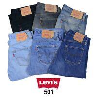 VINTAGE LEVIS 501 JEANS DENIM GRADE A W28 W30 W32 W34 W36 W38 501 LEVI 501s