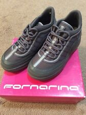 Fornarina Girl's Sneakers Up 1684 Size USA 2.5 UK 13S Eur 32 Grey