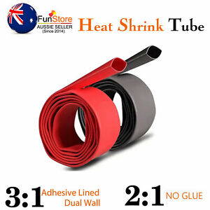 Heat Shrink Tubing Wire Connector Insulation Seal Protector Dual Wall Adhesive