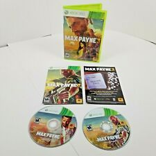Max Payne 3 (Microsoft Xbox 360, 2012) Complete With Manual - Tested