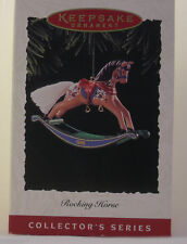 """Hallmark """"Rocking Horse"""" Collector'S Series Dated 1995 - Fifteenth in Series"""