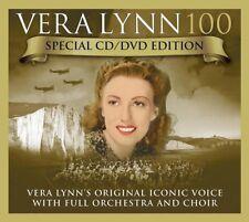 VERA LYNN Vera Lynn 100 Special Edition CD & DVD BRAND NEW 2017