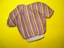 Vtg Barbie Ken 80s Doll Clothes Twice As Nice Striped Shirt 1984 9117