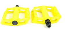 "Kore Rivera Thermo Bicycle Pedals 9/16"" Yellow"
