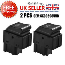2x Electric Window Control Switch for VW LUPO 6X1 6E1 Polo 6N2 6X0959855B MA1541