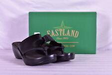 Women's Eastland Laurel Wedge Sandals, Black, 9 Wide