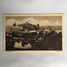 Frankfurt a M. Festhalle Germany Postkarte Unposted Postcard
