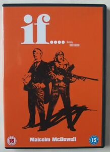 IF.... / LINDSAY ANDERSON / MALCOM McDOWELL / 1968 COUNTER CULTURE CULT FILM R2