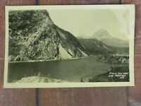 CROW'S NEST Lake and Mountain BC Canada RPPC Real Photo Postcard