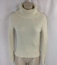 Gap Women's [Size XS] Cream Turtleneck 100% Cotton EUC free shipping