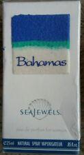 SEAJEWELS Bahamas EAU DE PARFUM Perfume .85 Oz Natural Spray Vaporisateur NOS