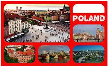 POLAND - SOUVENIR NOVELTY FRIDGE MAGNET - SIGHTS / FLAG / BRAND NEW / GIFTS